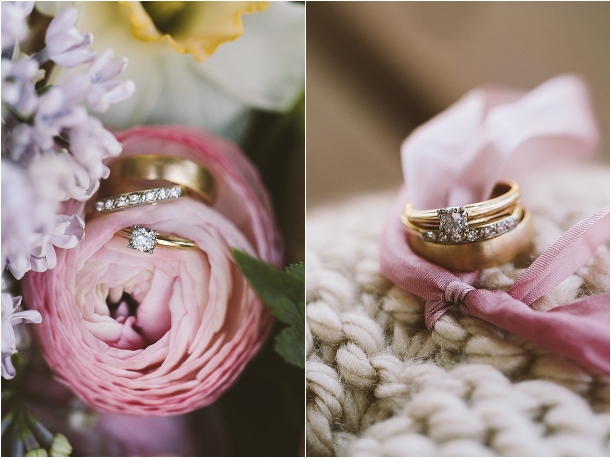 Lynchburg Virginia Sweet DIY Wedding as seen on Hill City Bride Rings Ring Shot Flowers