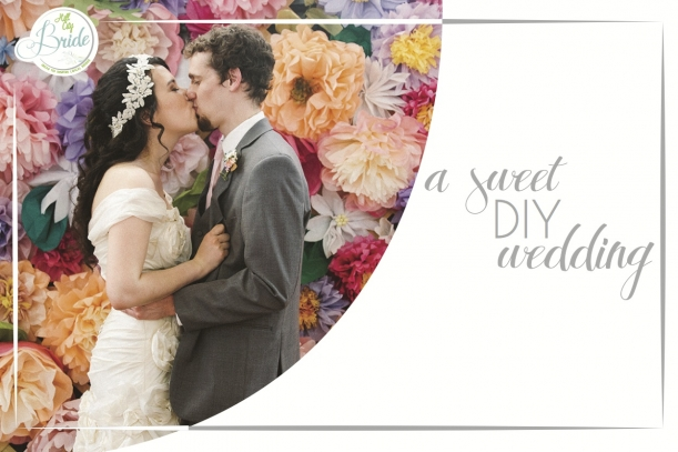 Lynchburg Virginia Sweet DIY Wedding as seen on Hill City Bride