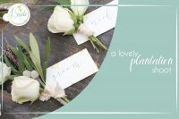 Lovely Plantation Wedding Styled Shoot as seen on Hill City Bride