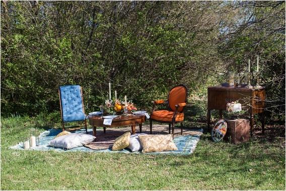 Citrus Bachelorette Party as seen on Hill City Bride Wedding Blog Flowers Orange Setting