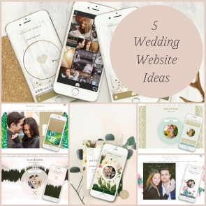 5 Wedding Website Ideas as seen on Hill City Bride Virginia Wedding Blog