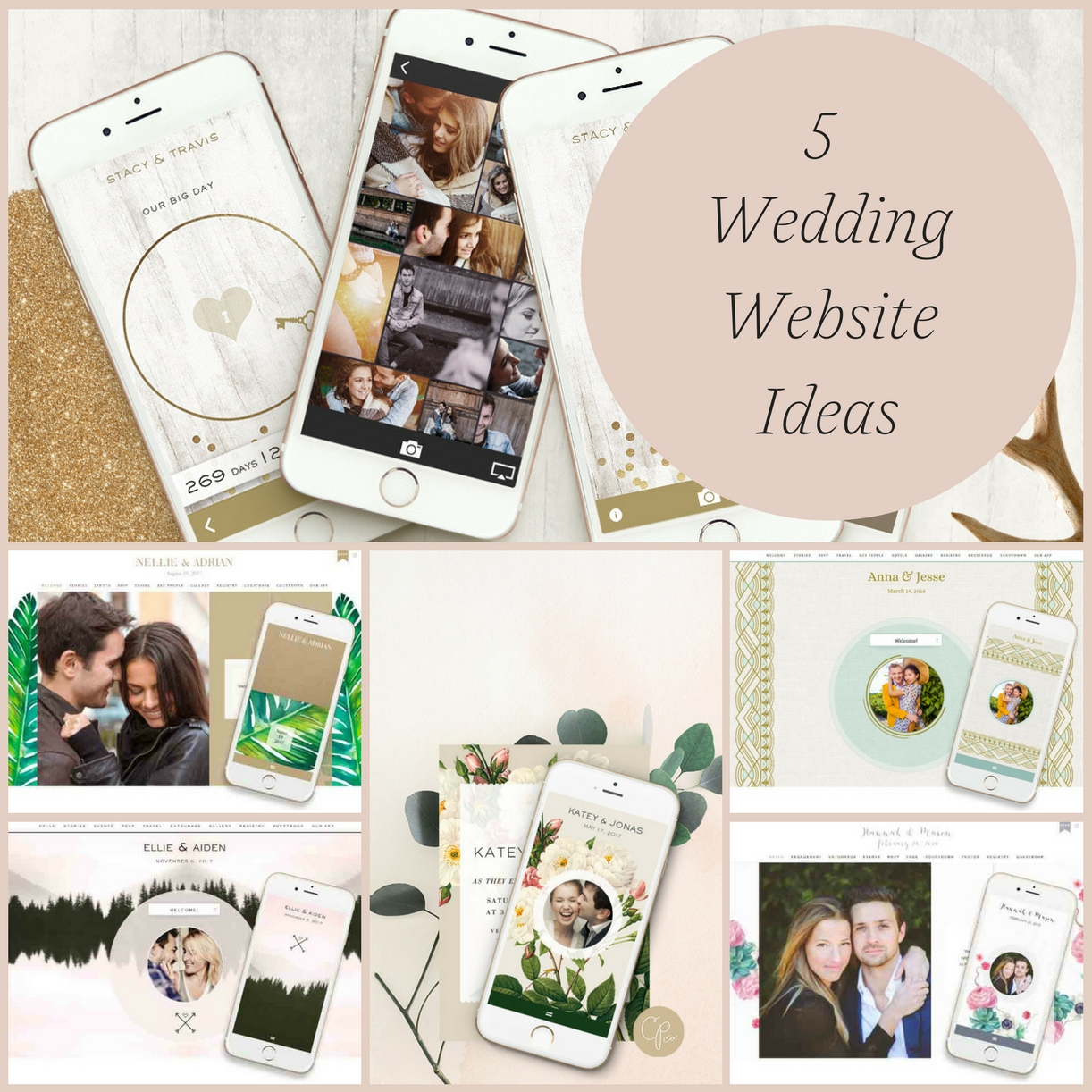 Wedding Websites Ideas: 5 Wedding Website Ideas » Hill City Bride