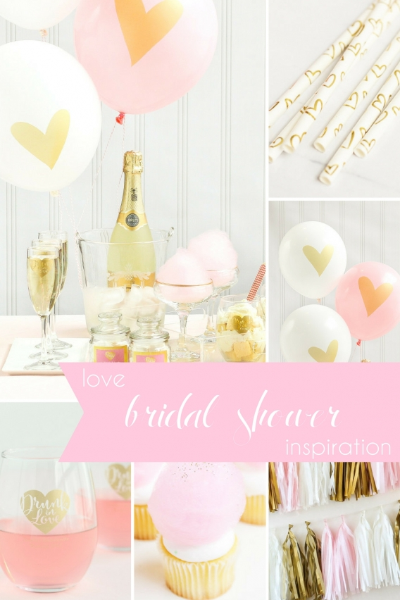 Love Bridal Shower Inspiration as seen on Hill City Bride Virginia Wedding Blog