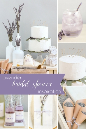 Lavender Bridal Shower Inspiration as seen on Hill City Bride Virginia Wedding Blog - purple, favor, twine, natural