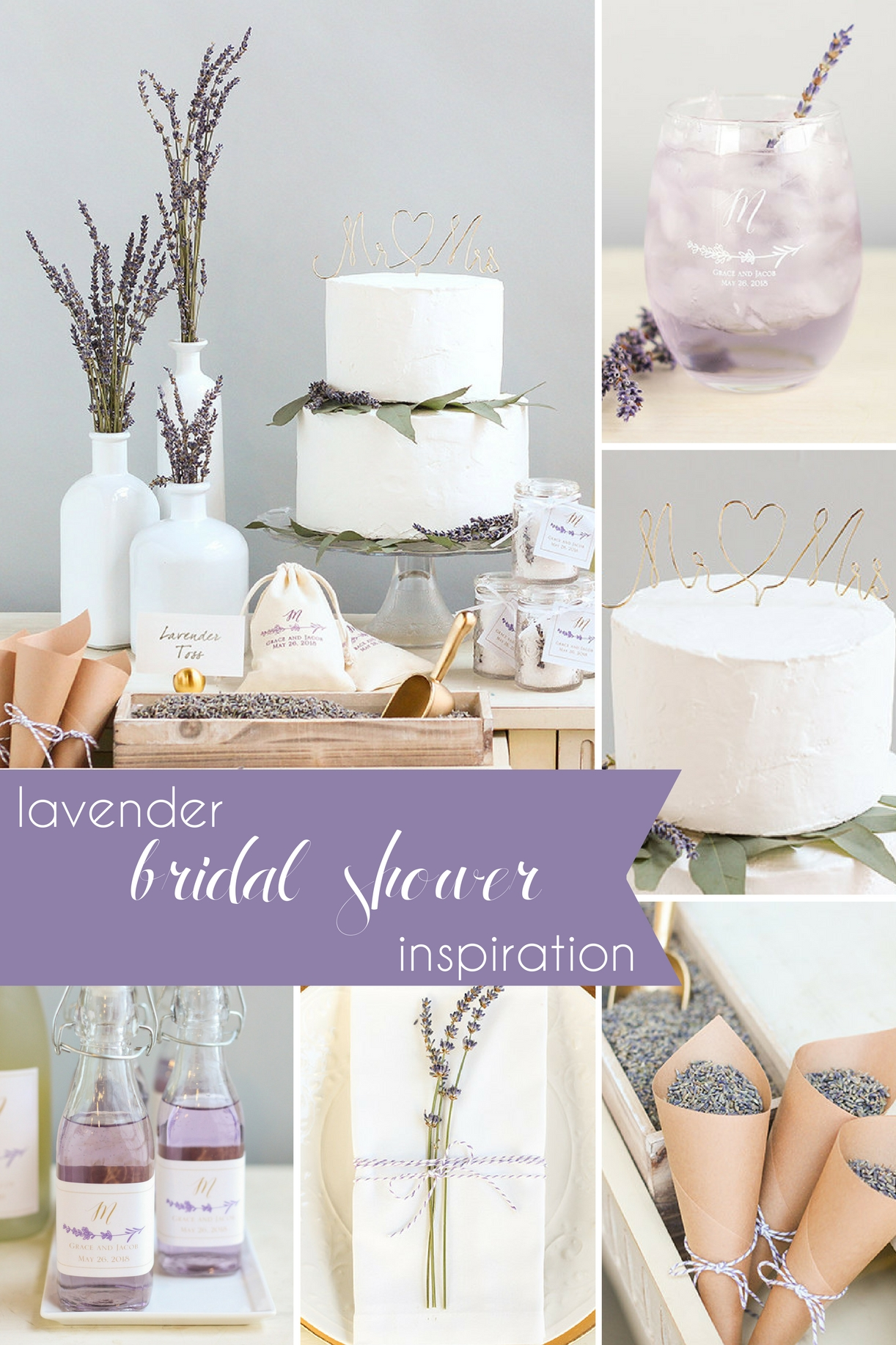 Lavender Bridal Shower Inspiration » Hill City Bride | Virginia ...