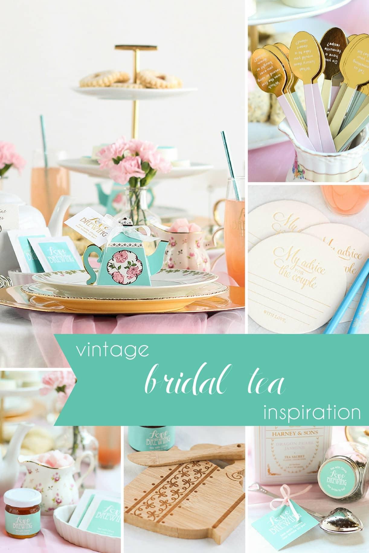 Vintage Bridal Tea Inspiration » Hill City Bride   Virginia Wedding Blog