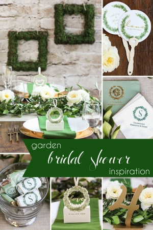 Garden Bridal Shower Inspiration as seen on Hill City Bride Virginia Wedding Blog