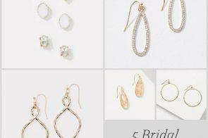 5 Bridal Earring Ideas as seen on Hill City Bride Virginia Wedding Blog