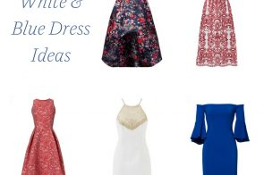 5 Red White and Blue Dress Ideas to Rent from Rent the Runway as seen on Hill City Bride Virginia Wedding Blog
