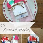 Custom DIY Silverware Pouch as seen on Hill City Bride Wedding Blog for Events and Parties