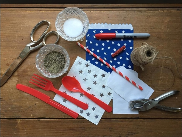 DIY Silverware Pouches as seen on Hill City Bride Lynchburg Virginia Wedding Blog and Magazine