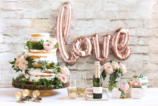 Adventure Themed Bridal Shower as seen on Beau Coup and Hill City Bride Wedding Blog