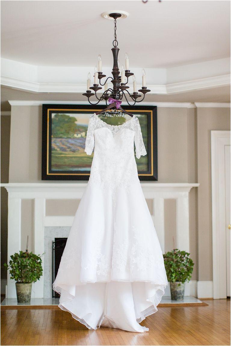 Lynchburg Virginia Wedding at Trivium Estate as seen on Hill City Bride Wedding Magazine Blog by Melissa Batman Photography - dress, gown