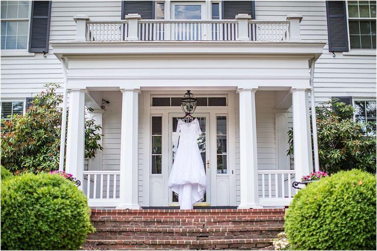Lynchburg Virginia Wedding at Trivium Estate as seen on Hill City Bride Wedding Magazine Blog by Melissa Batman Photography - dress, venue