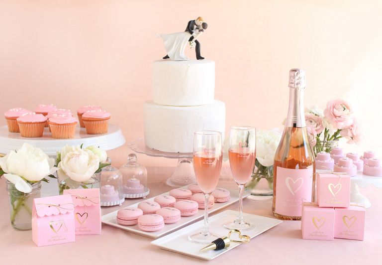 Boozy Bridesmaids Gifts as seen on Hill City Bride in partnership with Beau Coup
