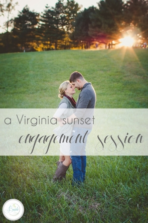Virginia Sunset Engagement Session at Natural Tunnel State Park as seen on Hill City Bride Wedding Blog E-session