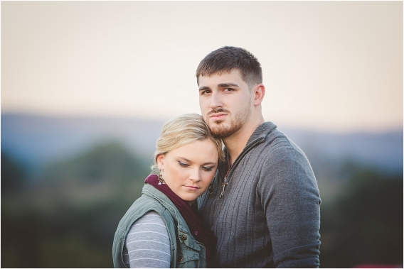 Virginia Sunset Engagement Session at Natural Tunnel State Park as seen on Hill City Bride Wedding Blog E-session by Edwards Photography
