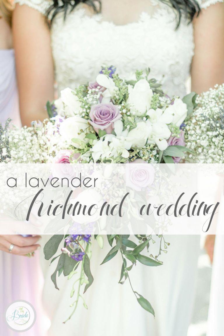 Interracial Lavender Richmond Virginia Wedding as seen on Hill City Bride Blog by Demi Mabry Photography