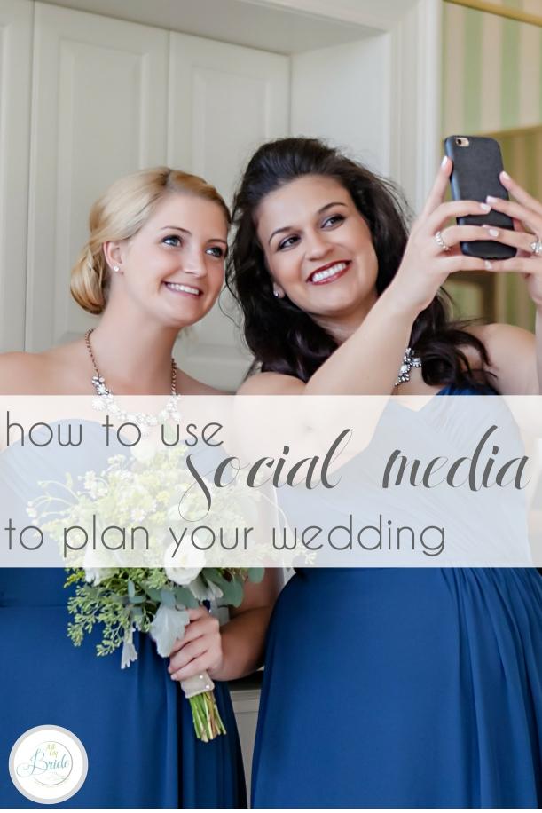 Using Social Media for Your Wedding as seen on Hill City Bride Virginia Blog - instagram, facebook, snapchat, hashtag