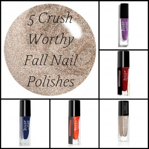 5 Crush Worthy Fall Nail Polishes as seen on Hill City Bride Virginia Wedding Blog Magazine