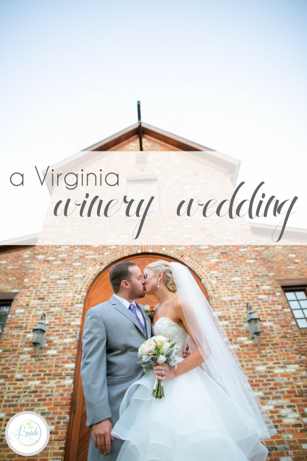 Virginia Winery Wedding at New Kent as seen on Hill City Bride Blog by Rebecca Keeling Studios - lavender, purple, outdoor