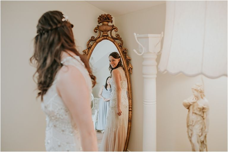 Lovely Virginia Vineyard Wedding as seen on Hill City Bride Blog by Vness Photography - bride