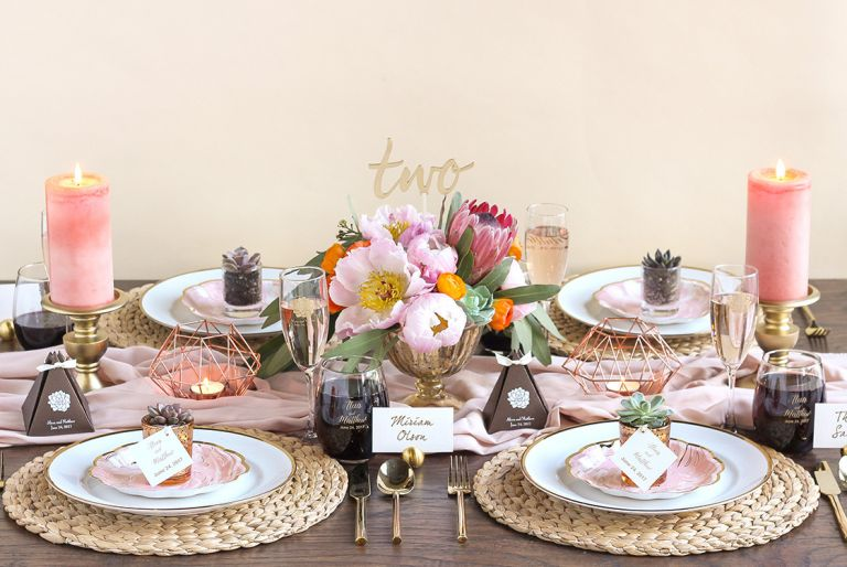 Desert Bridal Shower as seen on Hill City Bride Virginia Wedding Blog