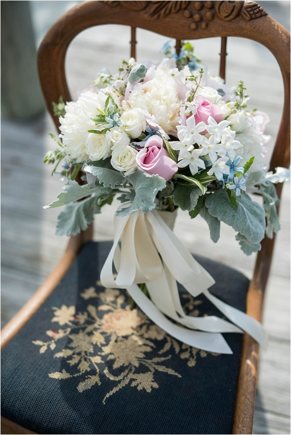 The Tides Inn Virginia Wedding Inspiration as seen on Hill City Bride Blog by Will Hawkins Photography - bouque