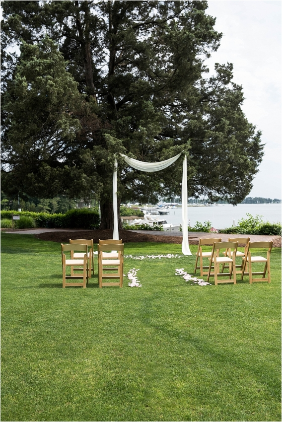 The Tides Inn Virginia Wedding Inspiration as seen on Hill City Bride Blog by Will Hawkins Photography - ceremony