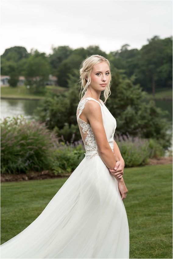 The Tides Inn Virginia Wedding Inspiration as seen on Hill City Bride Blog by Will Hawkins Photography - bridal, portrait, gown, dress
