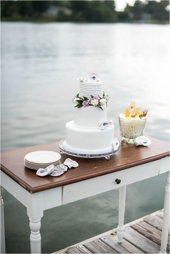 The Tides Inn Virginia Wedding Inspiration as seen on Hill City Bride Blog by Will Hawkins Photography - dessert, sweets, table