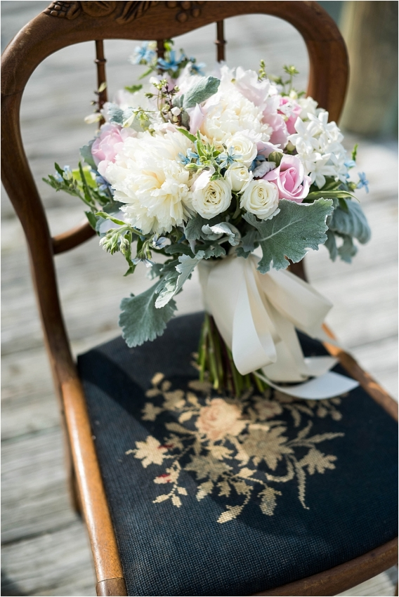 The Tides Inn Virginia Wedding Inspiration as seen on Hill City Bride Blog by Will Hawkins Photography - bouquet, flowers