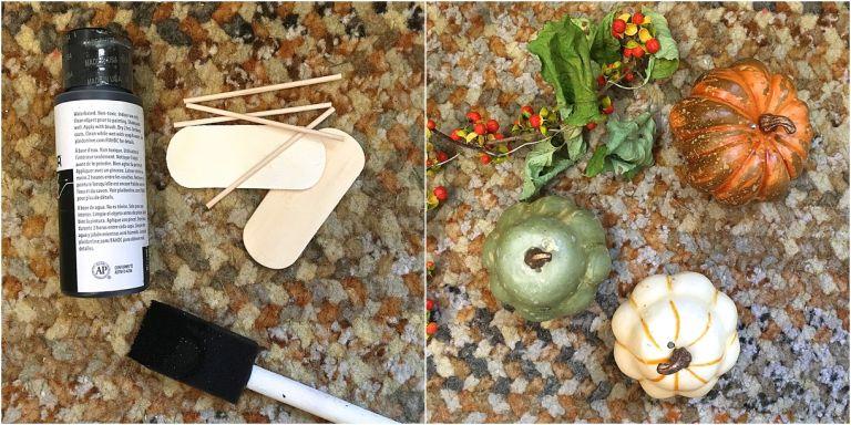 DIY Fall Cheese Board Markers as seen on Hill City Bride Virginia Wedding Blog Autumn