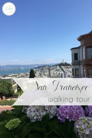 Walking Tour of San Francisco as seen on Hill City Bride Destination Wedding Travel and Honeymoon Blog