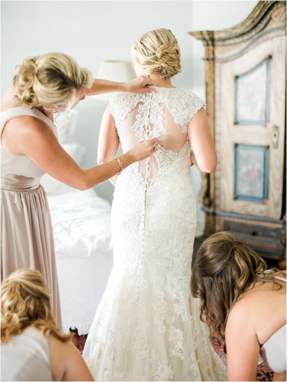 Historic Virginia Plantation Wedding as seen on Hill City Bride Blog by Rebekah Emily Photography - gown, dress, getting ready