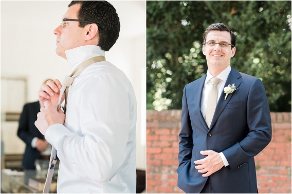 Historic Virginia Plantation Wedding as seen on Hill City Bride Blog by Rebekah Emily Photography - groom, getting ready