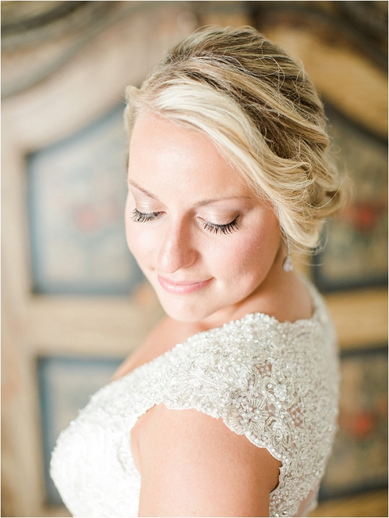 Historic Virginia Plantation Wedding as seen on Hill City Bride Blog by Rebekah Emily Photography - makeup