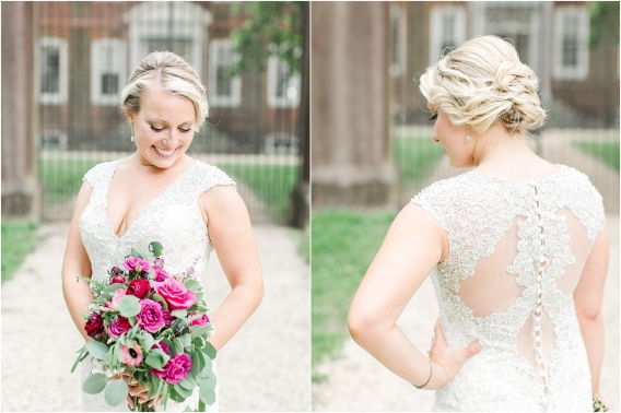 Historic Virginia Plantation Wedding as seen on Hill City Bride Blog by Rebekah Emily Photography - gown, dress
