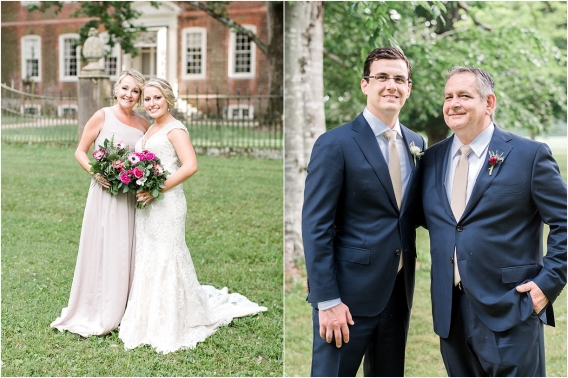 Historic Virginia Plantation Wedding as seen on Hill City Bride Blog by Rebekah Emily Photography - mother of the bride, mob, father of the groom