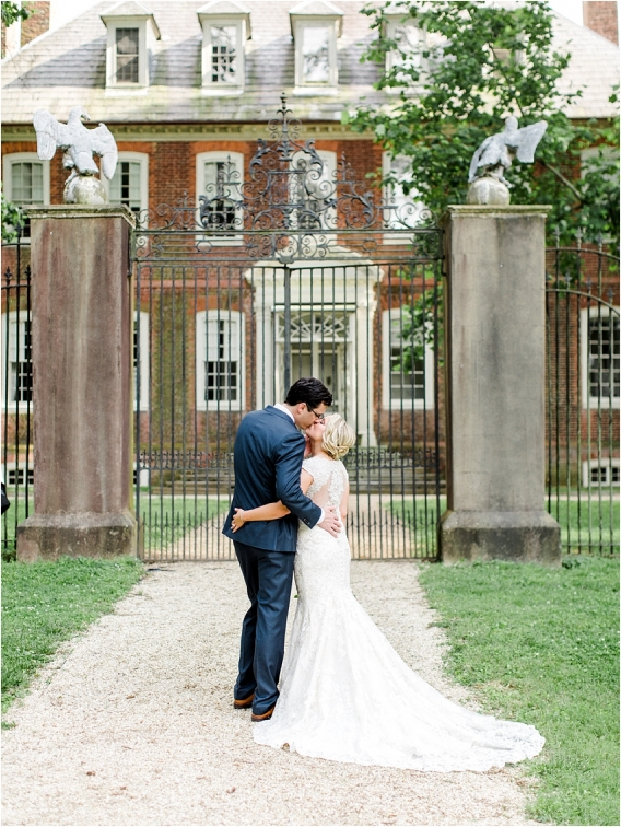 Historic Virginia Plantation Wedding as seen on Hill City Bride Blog by Rebekah Emily Photography - couple, newlyweds