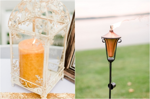 Historic Virginia Plantation Wedding as seen on Hill City Bride Blog by Rebekah Emily Photography - candle, torch