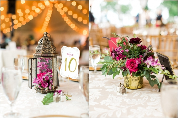 Historic Virginia Plantation Wedding as seen on Hill City Bride Blog by Rebekah Emily Photography - table number, centerpiece