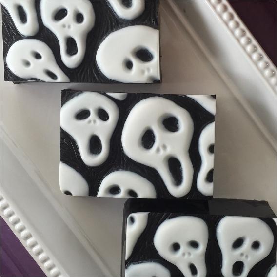 Bootiful Halloween Wedding Ideas as seen on Hill City Bride Virginia Blog via Etsy - soap, groomsmen gift, face, skull, scary