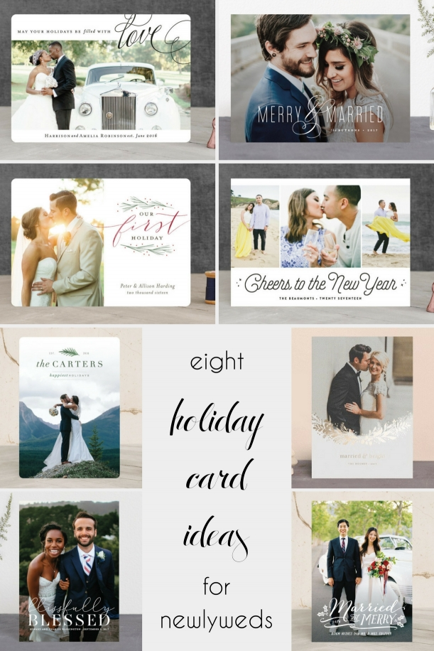8 Holiday Card Ideas for Newlyweds » Hill City Bride | Virginia ...