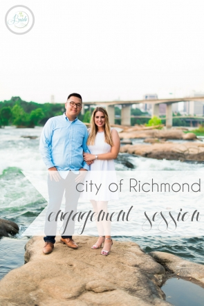 City of Richmond Engagement Session as seen on Hill City Bride Virginia Wedding Blog