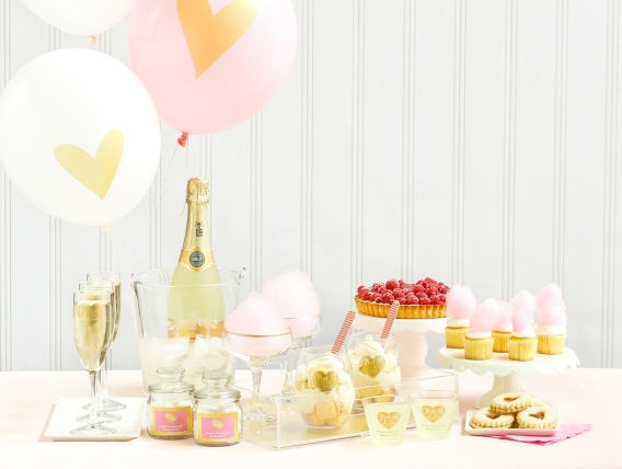 Love Bridal Shower Inspiration as seen on Hill City Bride Wedding Blog
