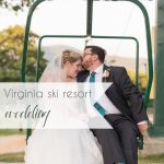 Virginia Ski Resort Wedding at Wintergreen as seen on Hill City Bride Wedding Blog by Ashley Eiban