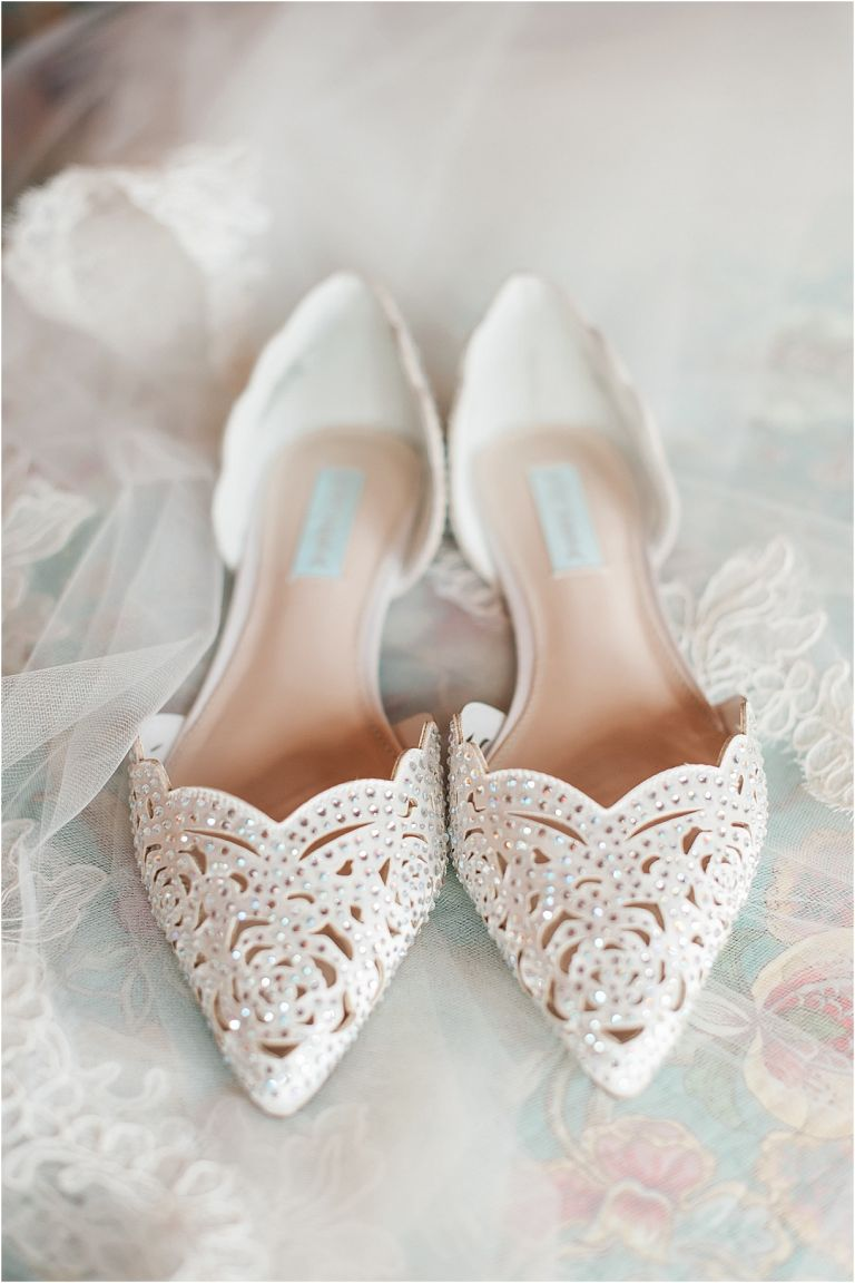 Virginia Barn Wedding as seen on Hill City Bride Wedding Blog - shoes