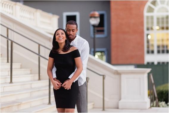 CNU Engagement Session as seen on Hill City Bride Wedding Blog Norfolk Christopher Newport University African American
