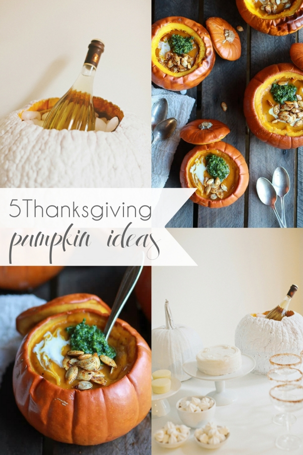 5 Harvest Thanksiving Pumpkin Ideas to DIY as seen on Hill City Bride Virginia Wedding Blog
